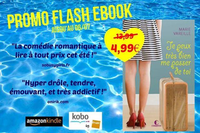 """Ebook """"Je peux très bien me passer de toi"""" de Marie Vareille"""
